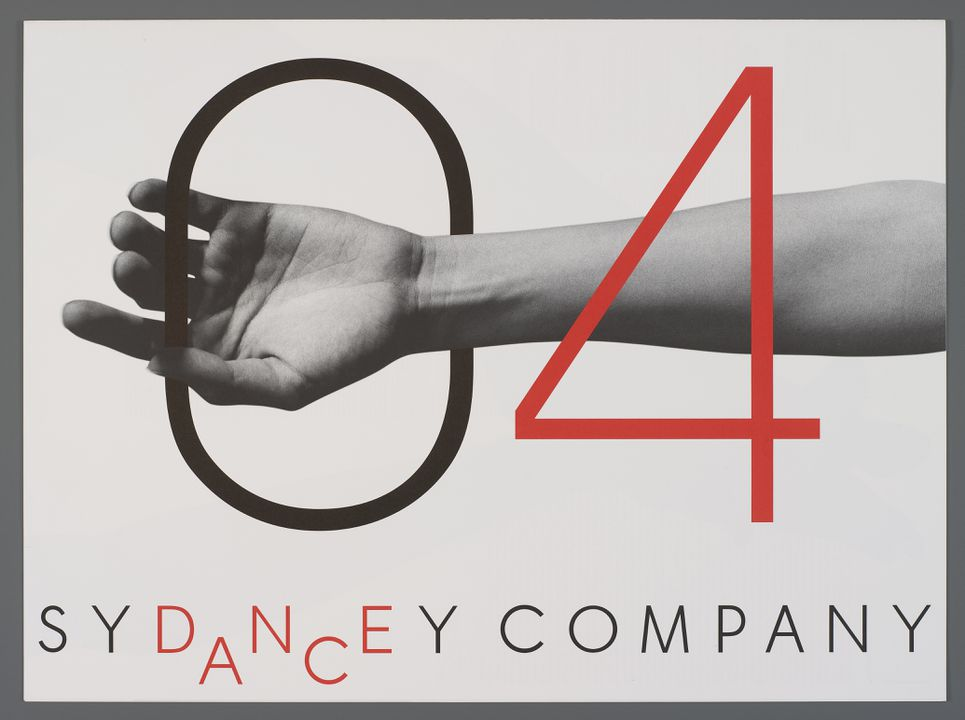 Graphic designs for the Sydney Dance Company by Frost Design - MAAS
