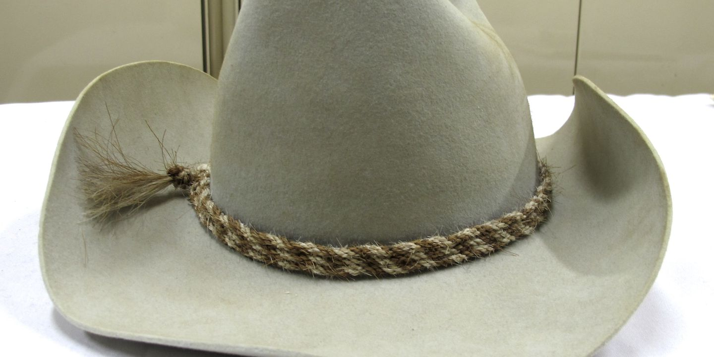 Dick Smith s cowboy hat - MAAS Collection f87e4bfd03c