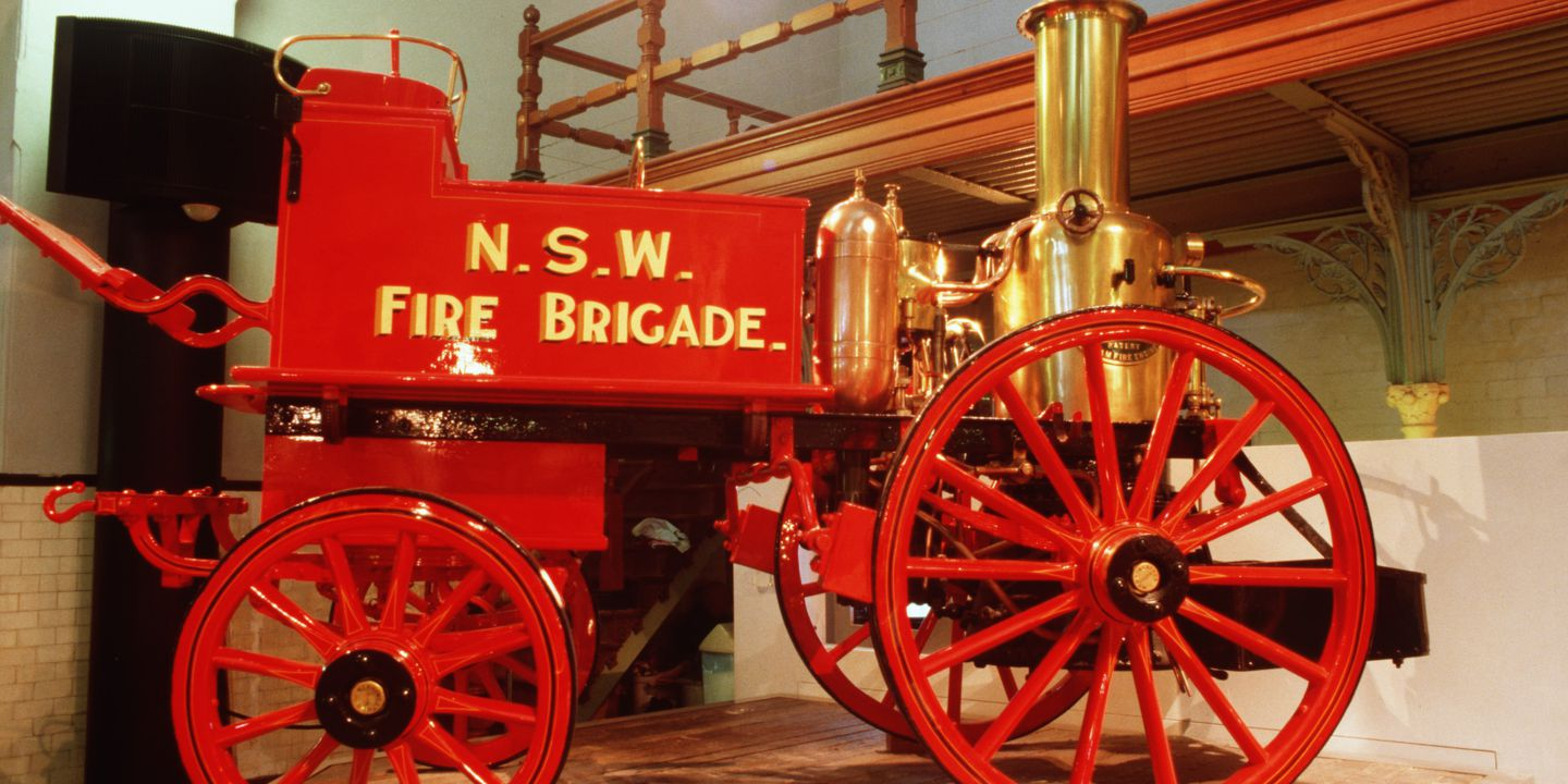 Merryweather Horse Drawn Steam Fire Engine 1895 Maas Collection A Gas Diagram B1406 Pump No1378 Metal