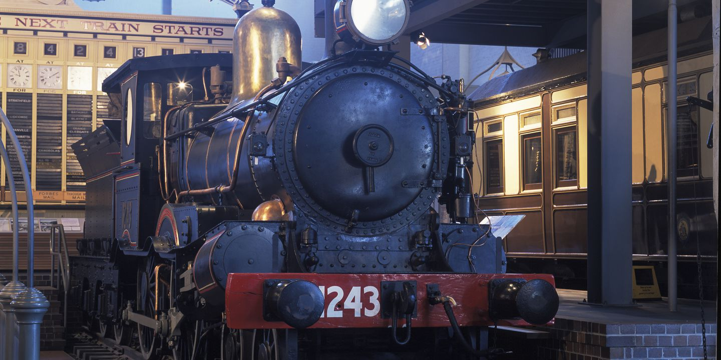 88/5-1 Locomotive, full size, steam, No.1243,
