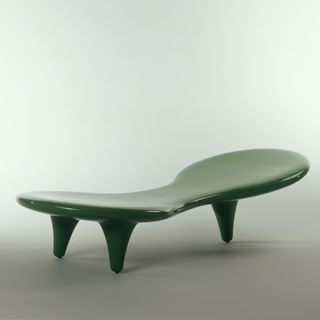 2001/113/1 Lounge, 'Orgone', fibreglass, designed by Marc Newson, Sydney, Australia, 1989, made by Cappellini, Italy, about 2001
