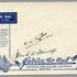 Image 1 of 1, 85/112-12 Envelope, Jubilee air mail Australia to New Zealand, unused, signed, paper, maker unknown, Australia, 1935. Click to enlarge