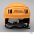 Image 9 of 14, 87/1040D Sports safety helmet, 'Stackhat', with packaging, plastic / metal / card, designed by PA Technology, made by Rosebank Products Pty Ltd, Victoria, Australia, 1987. Click to enlarge