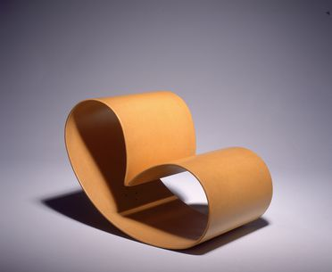 89/409 Chair, 'Peanut', laminated craftwood, designed by Marc Newson, made by Eckhard Reissig, Sydney, New South Wales, Australia, 1988