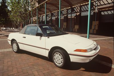 91/1161 Automobile, full size, Mercury Capri Series II, sports coupe, metal/plastic/rubber, made by Ford Motor Company of Australia Limited, Broadmeadows, Melbourne, Victoria, Australia, 1990-1991