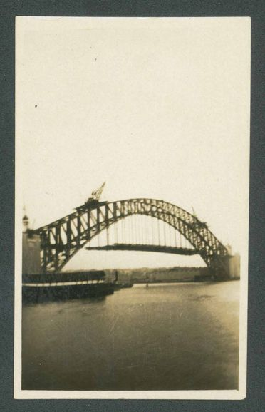 B600 Collection of Sydney Harbour Bridge paraphernalia (accumulated during construction), various materials, made by Department of Public Works, Sydney, New South Wales, Australia, 1926 - 1932