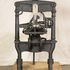 Image 8 of 8, H3408 'Albion' printing press, hand operated, iron, made by A. Wilson and Sons, London, England, 1850, used by Sir Henry Parkes to print the 'Empire' newspaper, Sydney, 1850 - 1856; later owned by Messrs. Craigie and Hipgrave to print the 'Express' newspaper, Armidale, New South Wales, Australia, 18. Click to enlarge