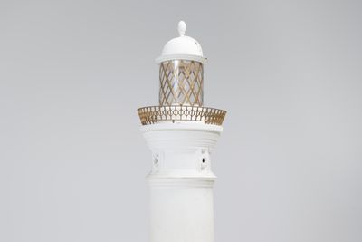 2015/30/1 Architectural model, Macquarie Lighthouse, wood / plastic, made by the Department of Navigation, Sydney, New South Wales, Australia, c.1880