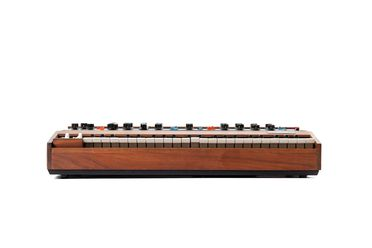 87/1415-1 Synthesiser, 'Minimoog model D', metal / wood / plastic / rubber, by Moog Music Inc, New York, United States of America, 1970-1972