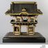 Image 1 of 5, A2991 Model and components, Yomeimon Gate at Toshougu Shrine, Nikko, Japan, wood, maker unknown, Japan, date unknown. Click to enlarge