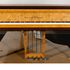 Image 11 of 23, 99/88/1 Grand piano with cover, Huon pine / King William pine / casuarina / metal, Stuart & Sons, Newcastle, New South Wales, Australia, 1998-1999. Click to enlarge