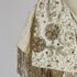 Image 7 of 7, 98/35/1 Evening dress, worn by Gladys Moncrieff, cotton/glass/diamantes, made by Lucéle, worn in New Zealand/Australia, 1961. Click to enlarge
