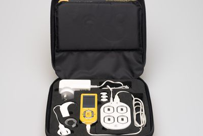 2014/121/1 Cochlear Nucleus CR120 Intraoperative Remote Assistant kit, plastic / metal / electronic components, made by Cochlear Limited, Sydney, New South Wales, Australia, 2013