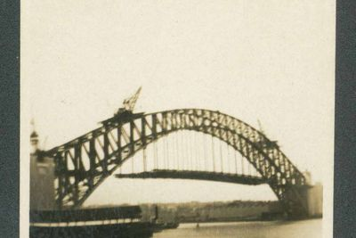 B600 Collection of Sydney Harbour Bridge paraphernalia (accumulated during construction), Sydney, New South Wales, Australia, 1926 - 1932