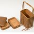 Image 3 of 12, D481 Basket, bamboo, maker unknown, Japan, c.1889. Click to enlarge