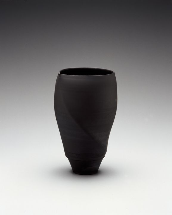 Spiral form' vase by Victor Greenaway - MAAS Collection