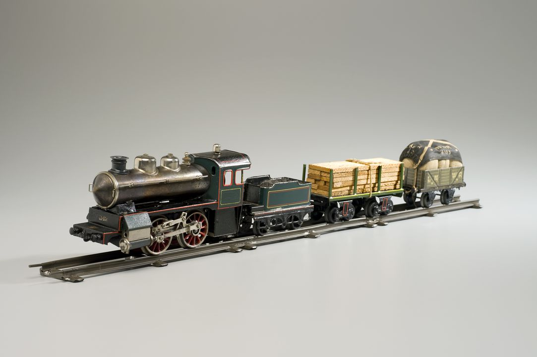 O-Gauge model train set - MAAS Collection