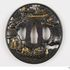 Image 69 of 71, A5308 Collection of 125 tsubas (sword guards), various makers, metal, Japan, 1700-1900. Click to enlarge