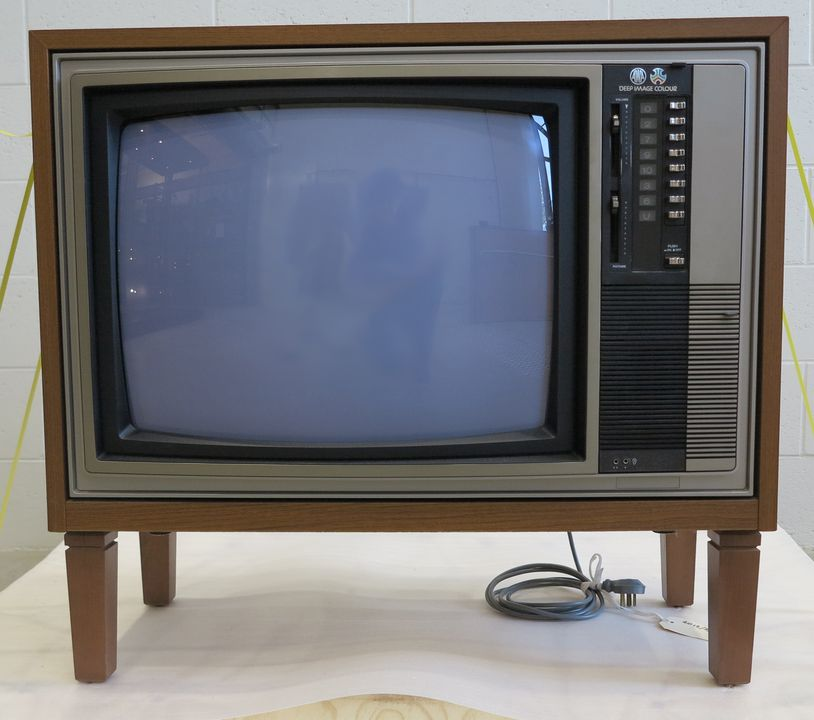 AWA colour television - MAAS Collection on