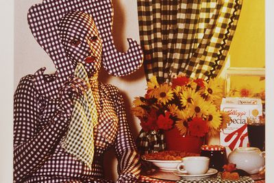 "96/76/1 Photograph, 'Brenton in ""Gingham"" ', cibachrome print, Brenton Heath-Kerr/ Brendon Williamson/Peter Elfes, Sydney, Australia, 1992-1996"