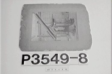 P3549-8 Photograph, black and white, equitorial telescope, Sydney Observatory